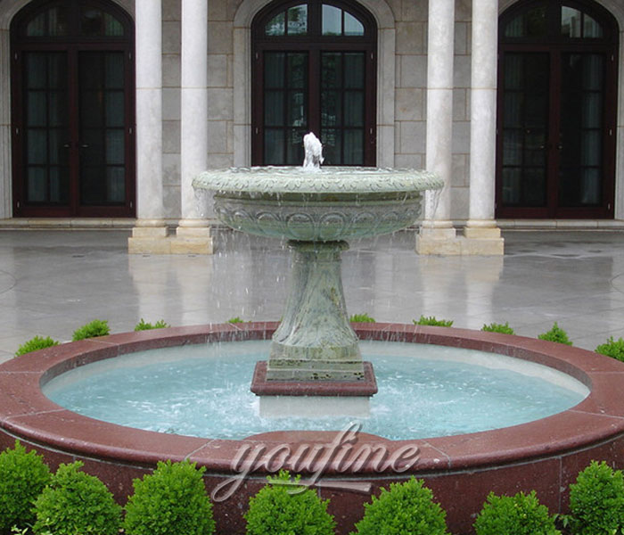 Small Tiered marble stone water home fountain for sale Small Tiered marble stone water home fountain for sale