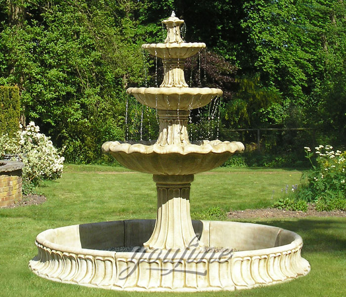 Hot selling classical tiered water fountain outdoor for hotel on sale