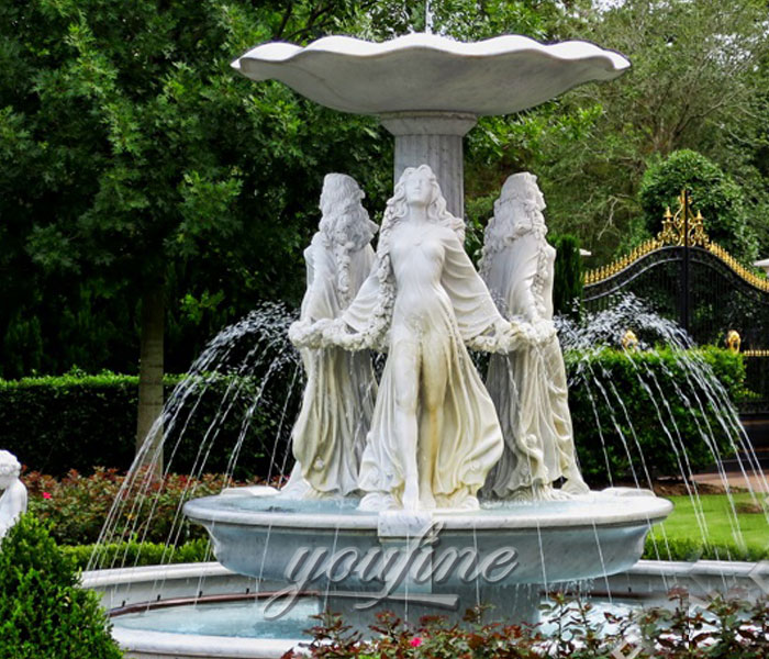 Huge Outdoor Fountains Marble Water Fountain Sale Large