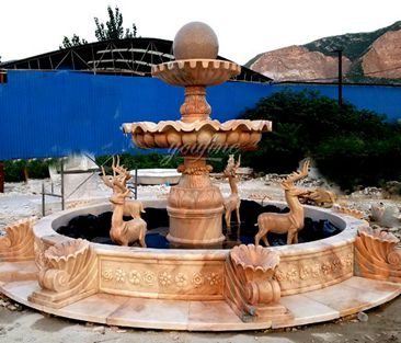 feng shui water fountain outside front door, water fountain in house, feng shui water fountain placement outside, Garden Water Fountains,