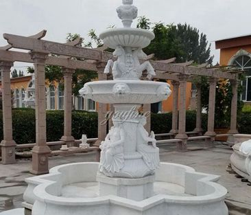 garden fountain, garden fountain for sale, garden marble fountain, marble fountains,