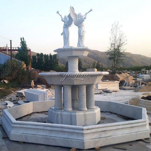 Marble Angel Fountain