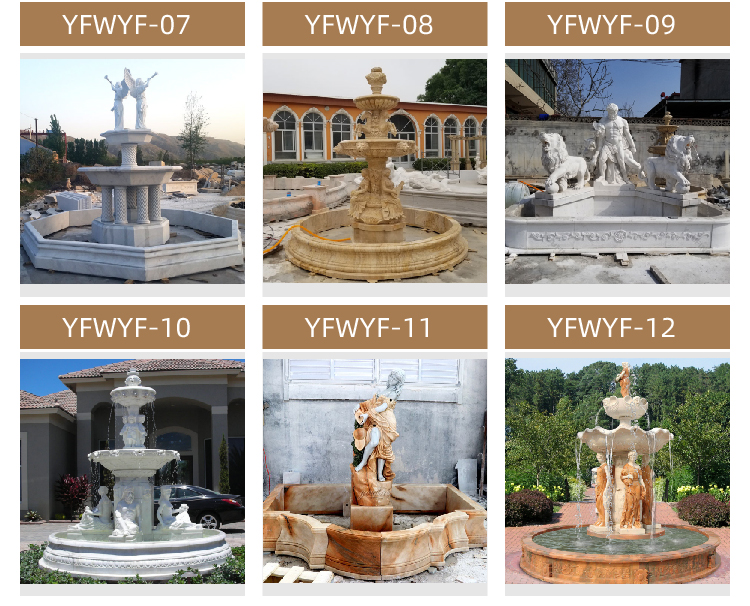 Online Marble Fountain Sales Offer Marble Angel Fountain for Sale MOKK-08