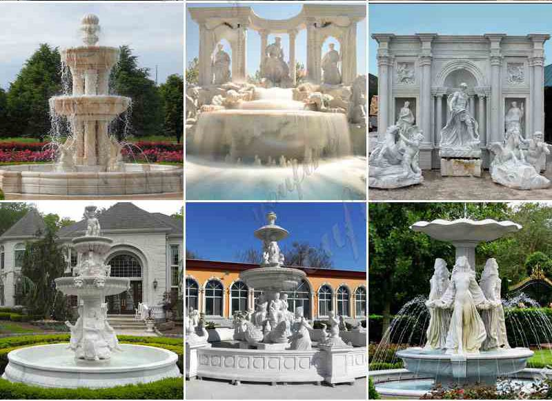 Related Products of Marble Carved Garden Water Fountain
