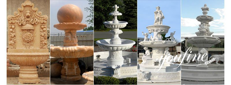 Marble figure fountain for sale
