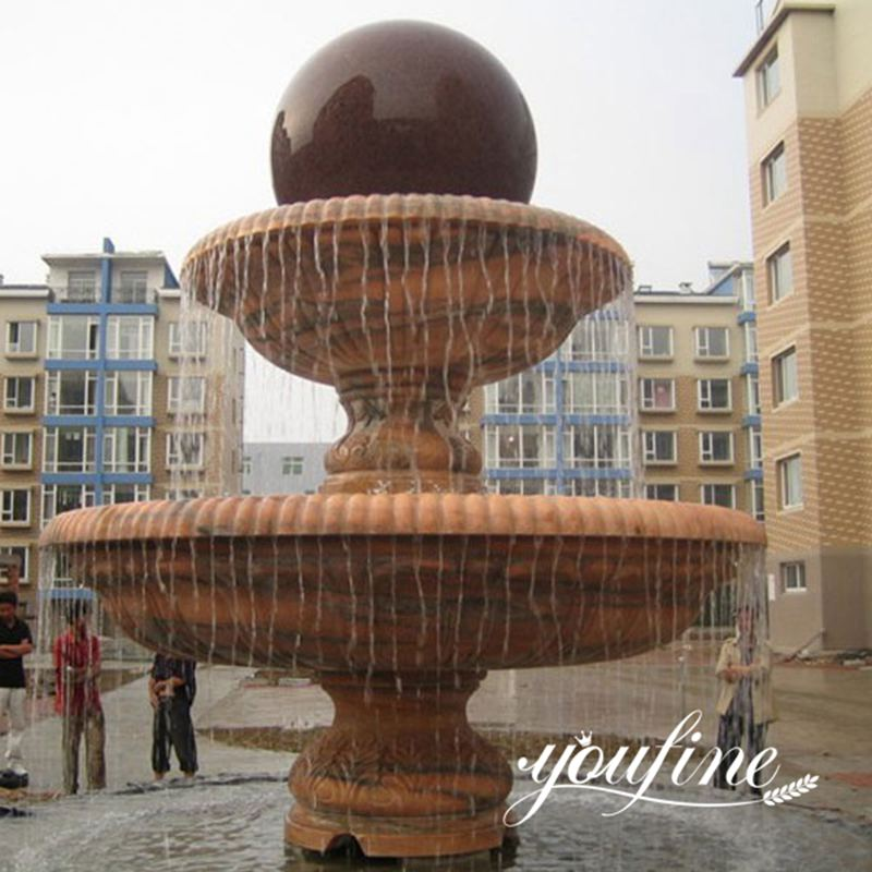Granite Sphere Water Fountain