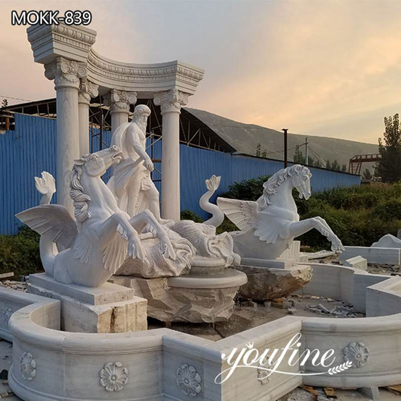 Outdoor Rome Small Marble Trevi Fountain Garden Decor for SaleOutdoor Rome Small Marble Trevi Fountain Garden Decor for Sale