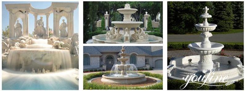 trevi fountain marble