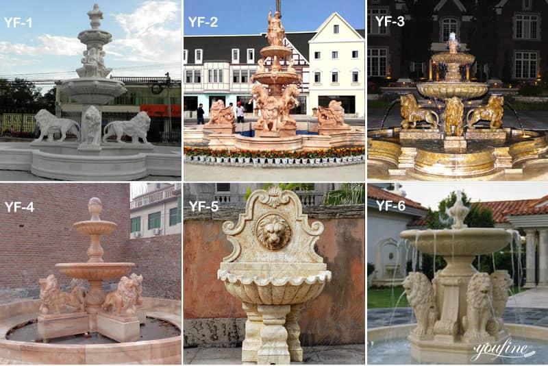 Statuary Water Fountain