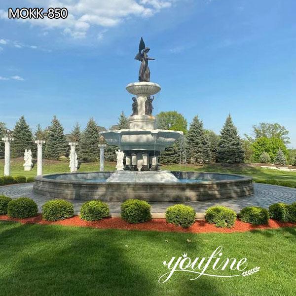 White Marble Fountain Garden Decor for Sale MOKK-580