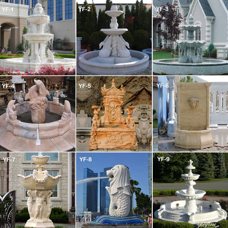 marble fountain for home