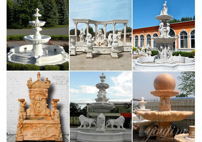 marble fountain price