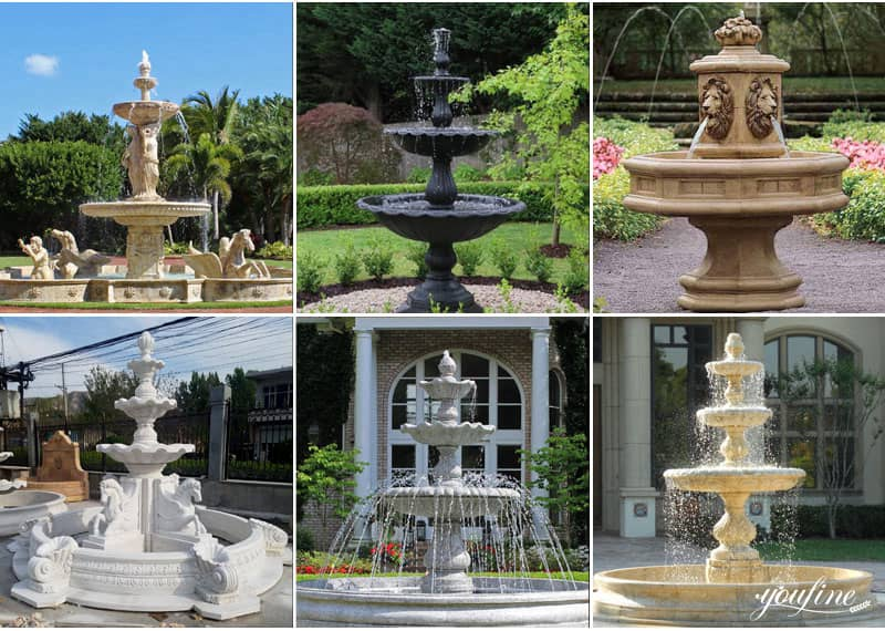 marble outdoor fountains for sale