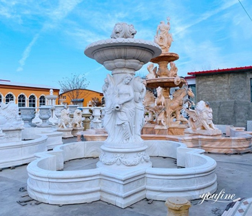 Hand Carved Garden Marble Fountain from Factory Supply MOKK-788