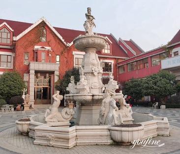 Luxury Marble Water Fountain for Garden for Sale MOKK-864