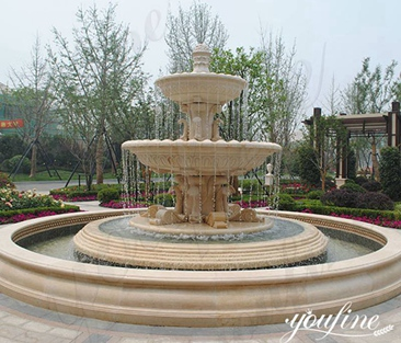 Natural Marble Water Fountain for Garden for Sale MOKK-551