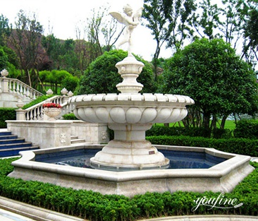 Outdoor Tiered Fountain